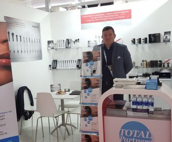 TOTALPartners AG was exhibiting in Dubai at Beautyworld Middle East 2018